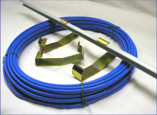Cable Heating Systems : Third rail heating cable thermal flex systems